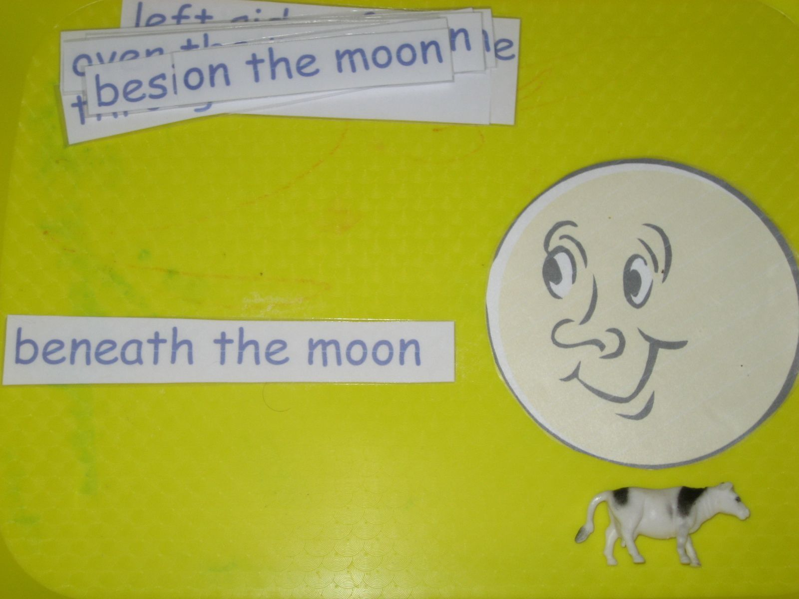 Positional Word Activity To Use In Conjunction With Night Day Goodnight Moon Or Nursery Rhymes