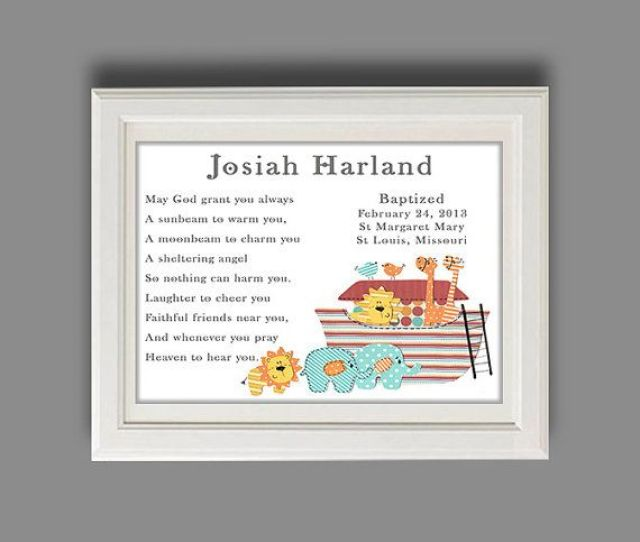 Christening Gift Baptism Gift Baby Boy By Roolaroodesigns On Etsy