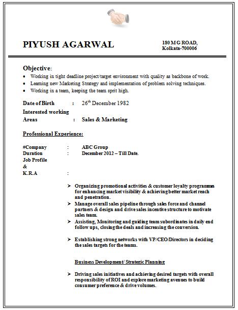 resume format for graduates resume sample