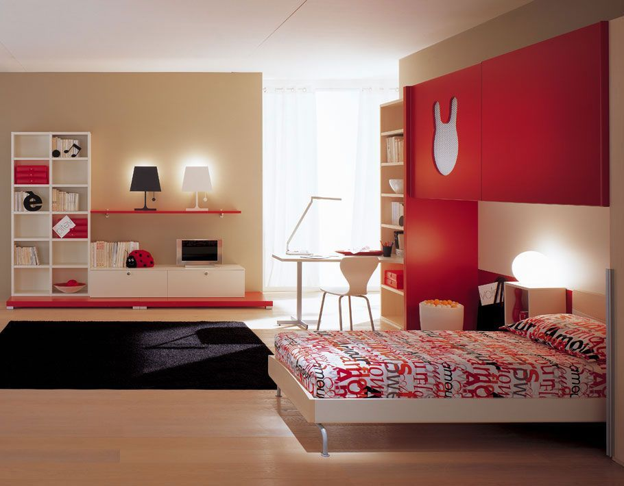 Voguish Themes And Color Schemes For Kids Bedrooms On Kids