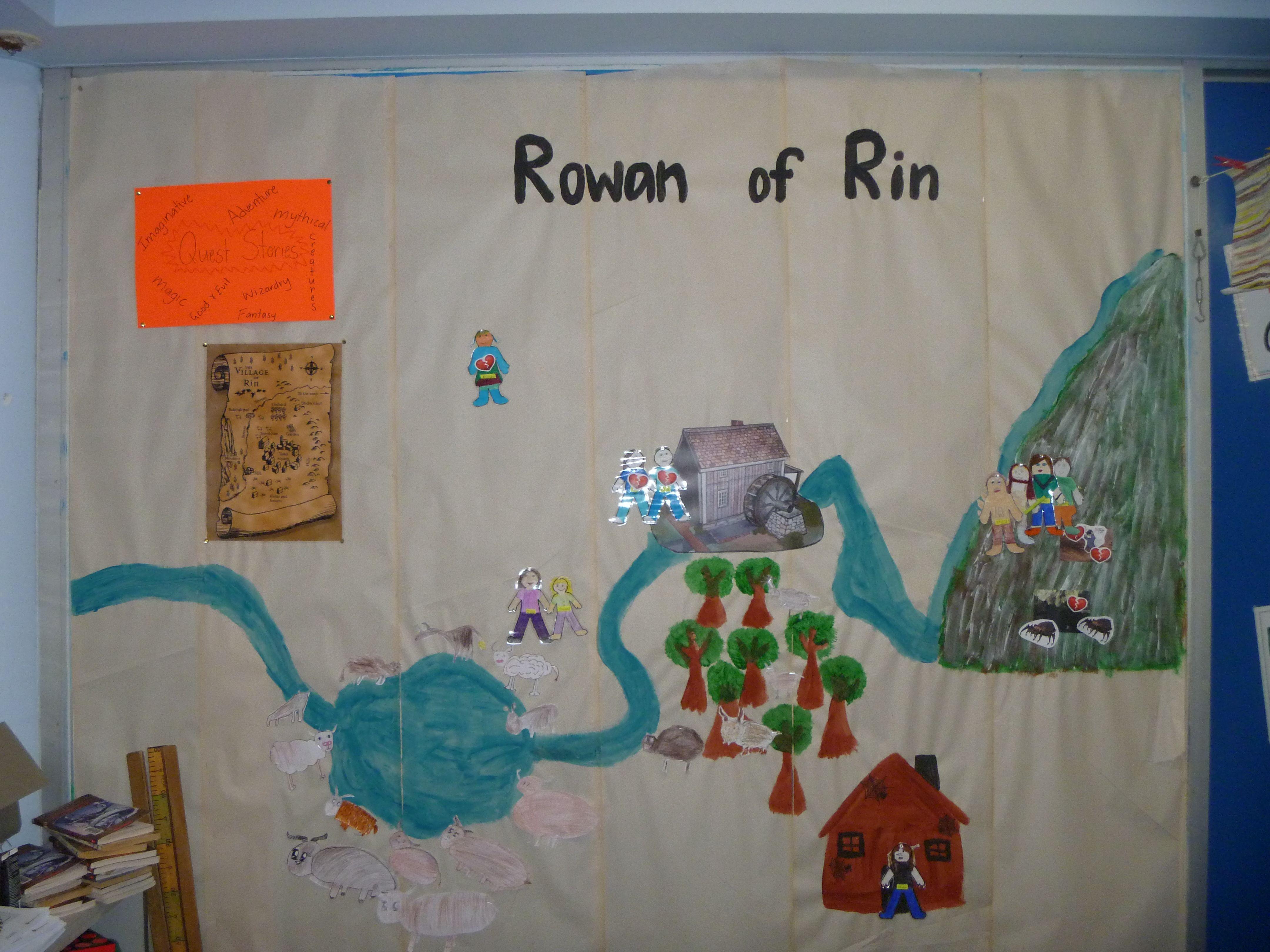Rowan Of Rin Create A Rowan Of Rin Wall With Your Students