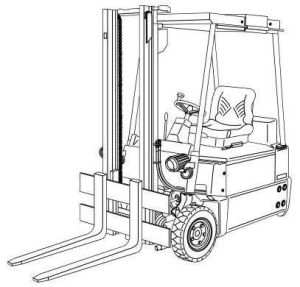 Linde Electric Forklift Truck 324 Type Explosion Protected