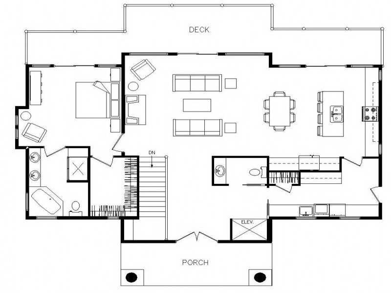 Open Floor Plans For Small Ranch Style Homes With Deck