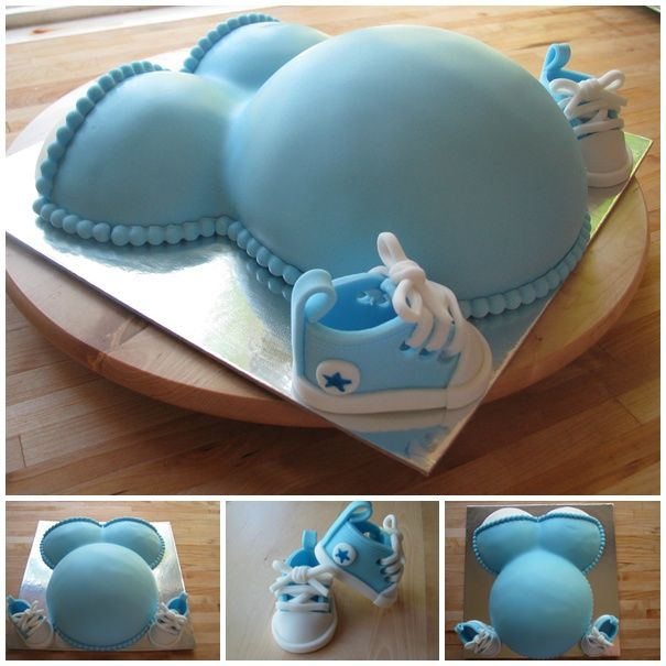Best 25 Pregnant Belly Cakes Ideas On Pinterest Belly
