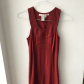 Knee length max studio red dress stretchy material studio and