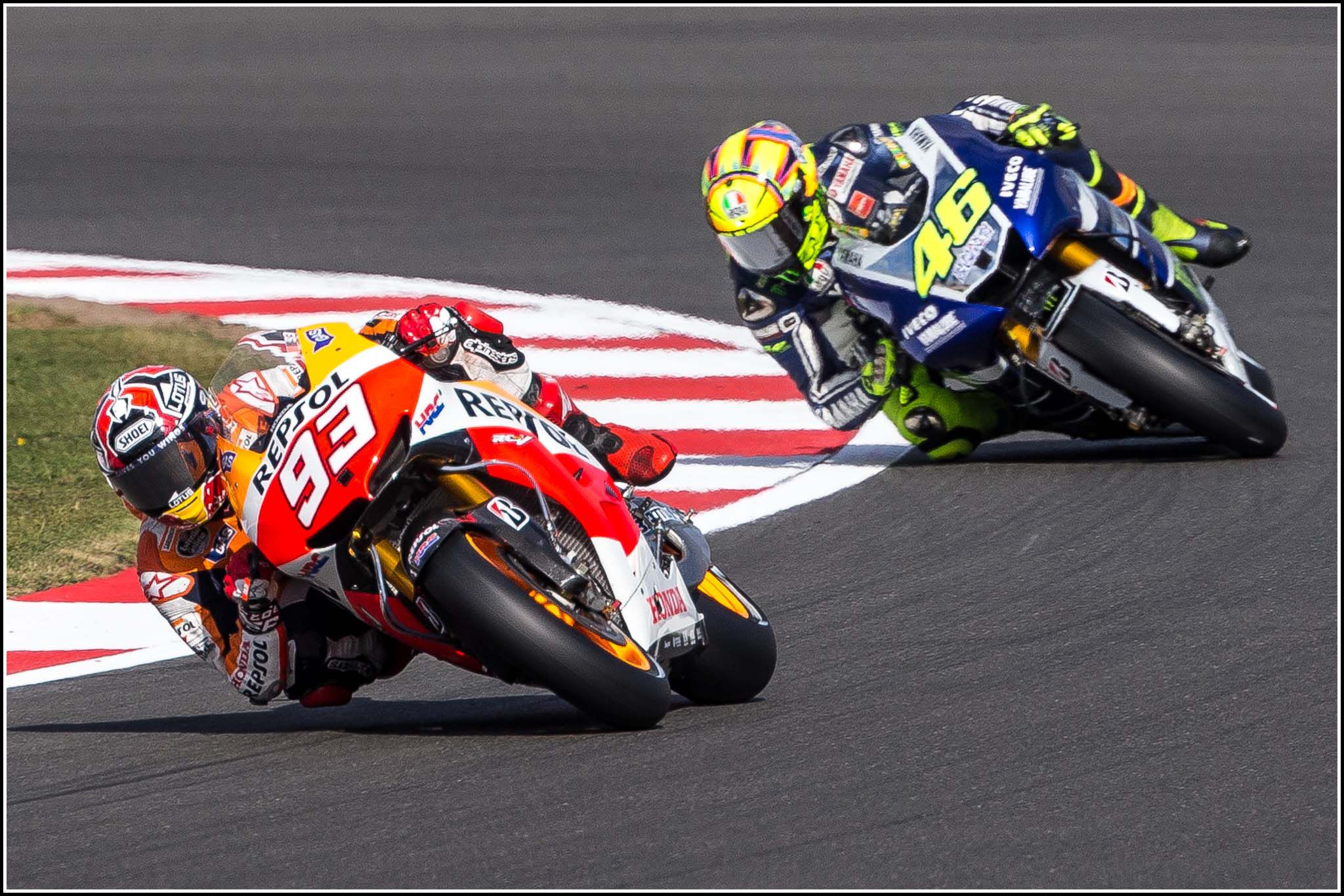 cool marc marquez and valentino rossi hd wallpaper | anime