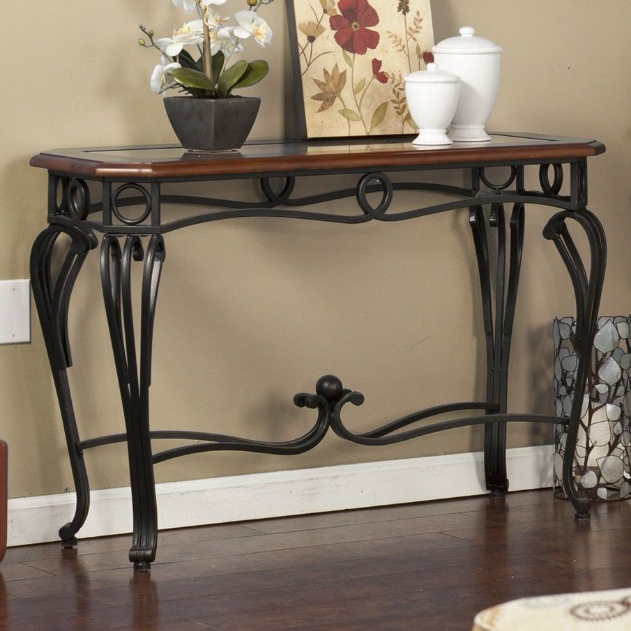 wood wrought iron tv stand | Good Reviews about Home ... on Iron Stand Ideas  id=18398