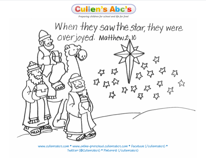 Epiphany Memory Verse Coloring Page For A Complete Approach To Worship At Home