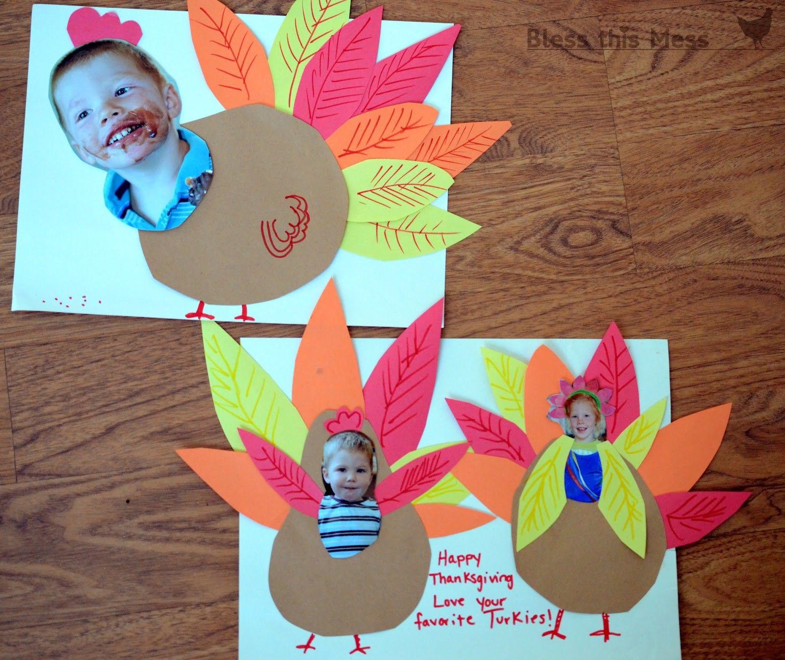 Preschool Turkey Craft Ideas
