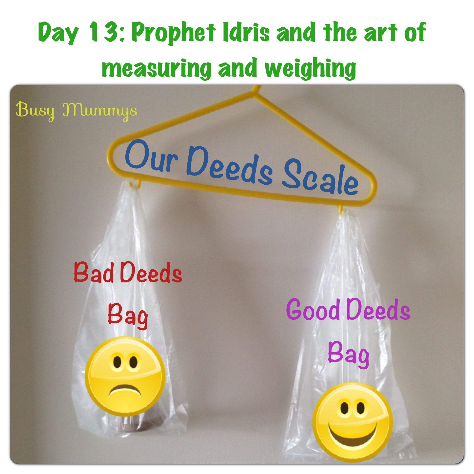 Ramadhan A Craft A Day Day 13 Prophet Idris Amp The Art