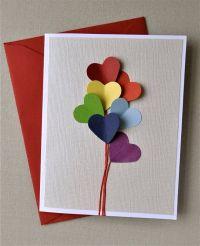 valentine cards handmade pinterest