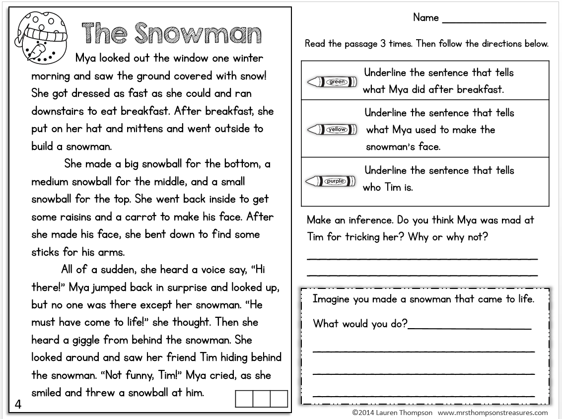 Worksheet Close Reading Worksheet Worksheet Fun
