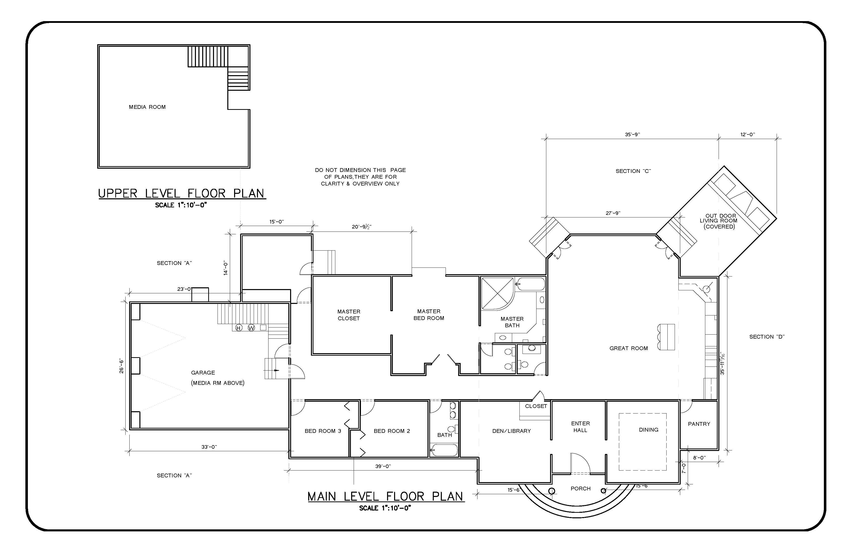Architectural Floor Plan, Architectural Drawings