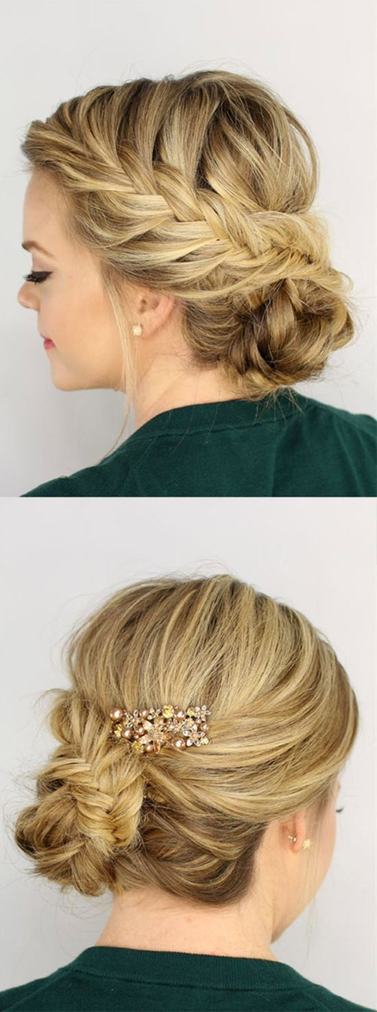 Gorgeous Braided Updos You Must Try Prom hairstyles Prom hair