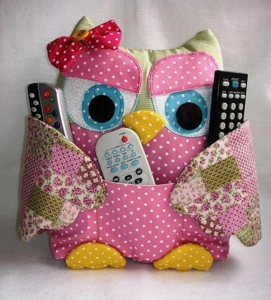this owl remote control holder sewing pattern has been super popular and it will come in very handy at your home check these cuties out now