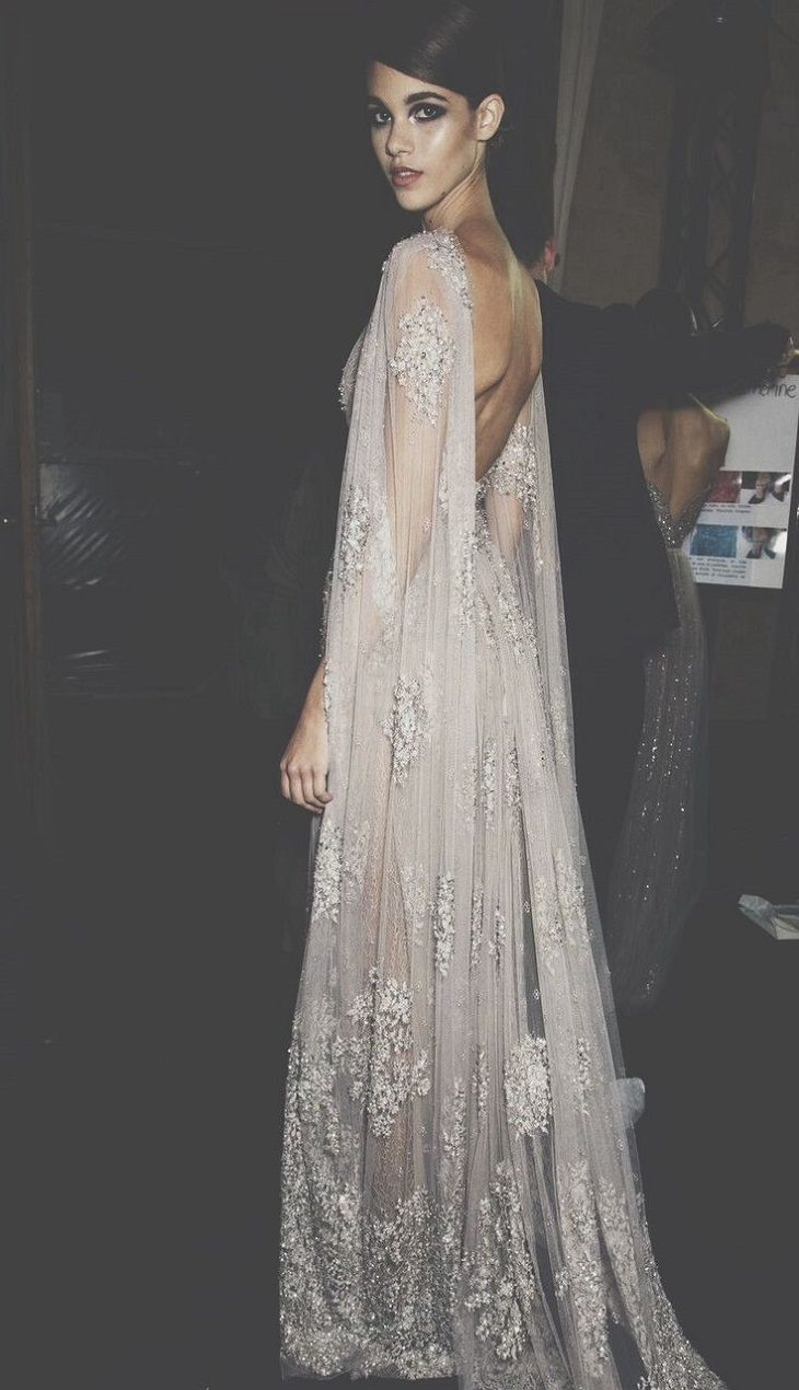 The most gorgeous wedding dress with cape sleeve Cape Wedding