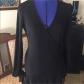 Diane von furstenberg classic black wrap dress diane von
