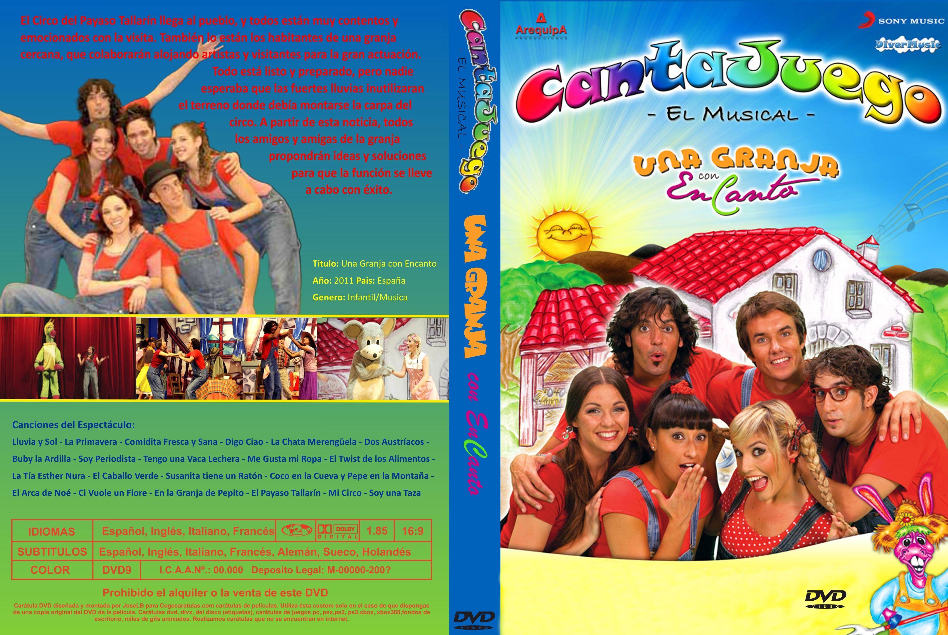 Caratula Dvd Cantajuegos