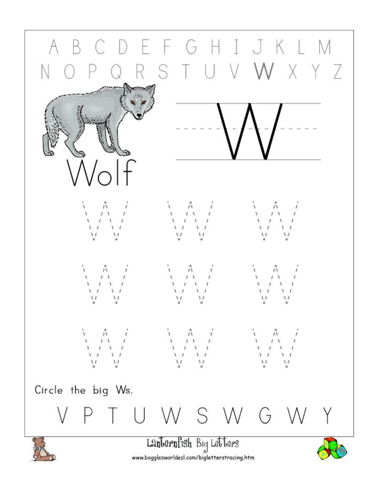 The Boy Who Cried Wolf Worksheet