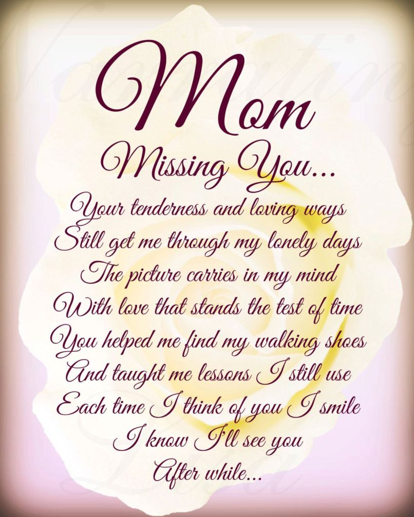 poem for deceased mother on her birthday poemdoc or