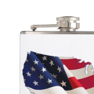 HD Decor Images » USA Flag  Map of America  4th of July Flask   4th of July     USA Flag  Map of America  4th of July Flask