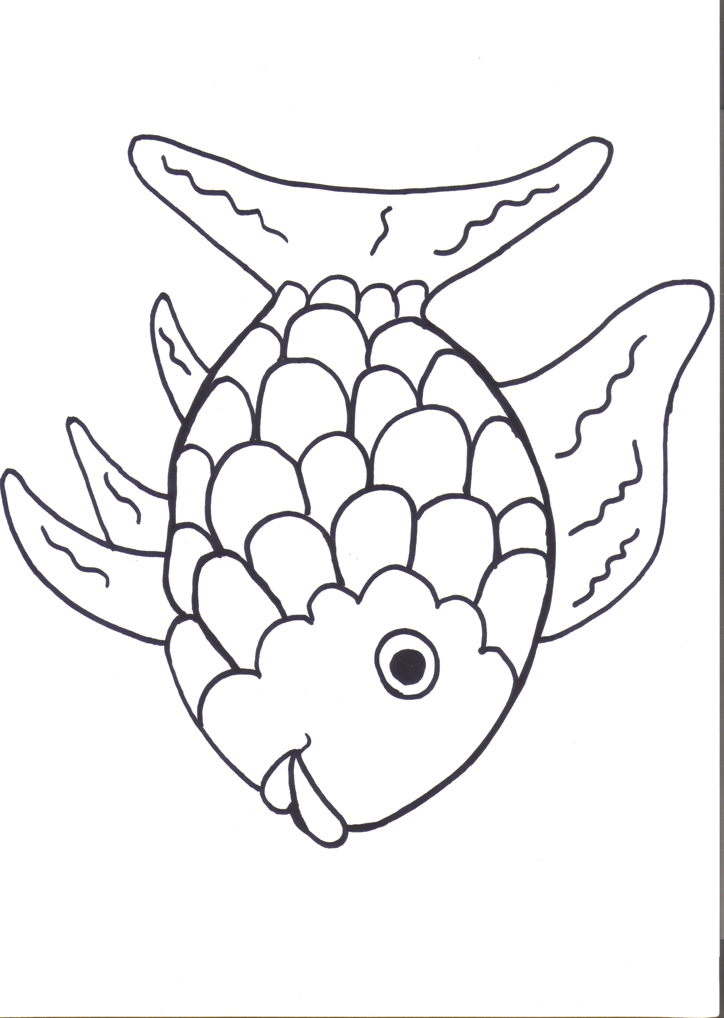 Rainbow Fish Printables August Preschool Themes