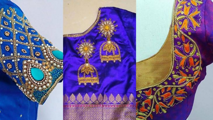 Designs on a blouse have tales to tell And the embroidery has to