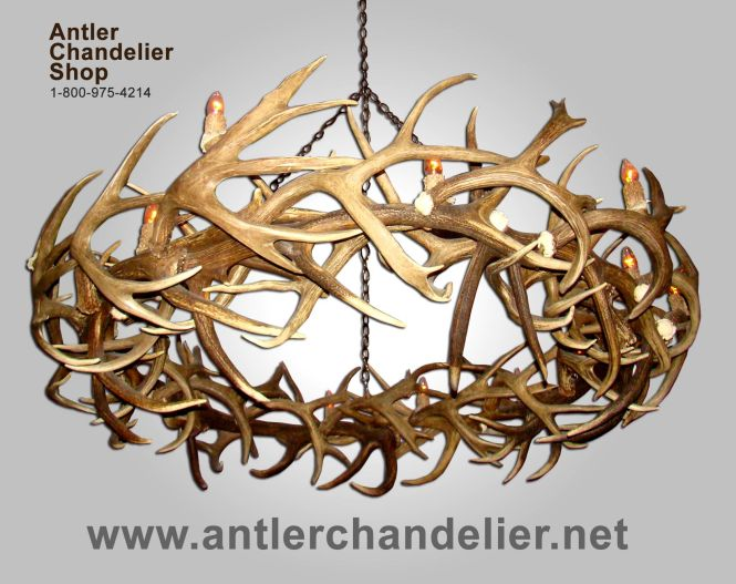 Real Antler Chandeliers Large Selection Of Deer And Lighting Solutions From Chandelier
