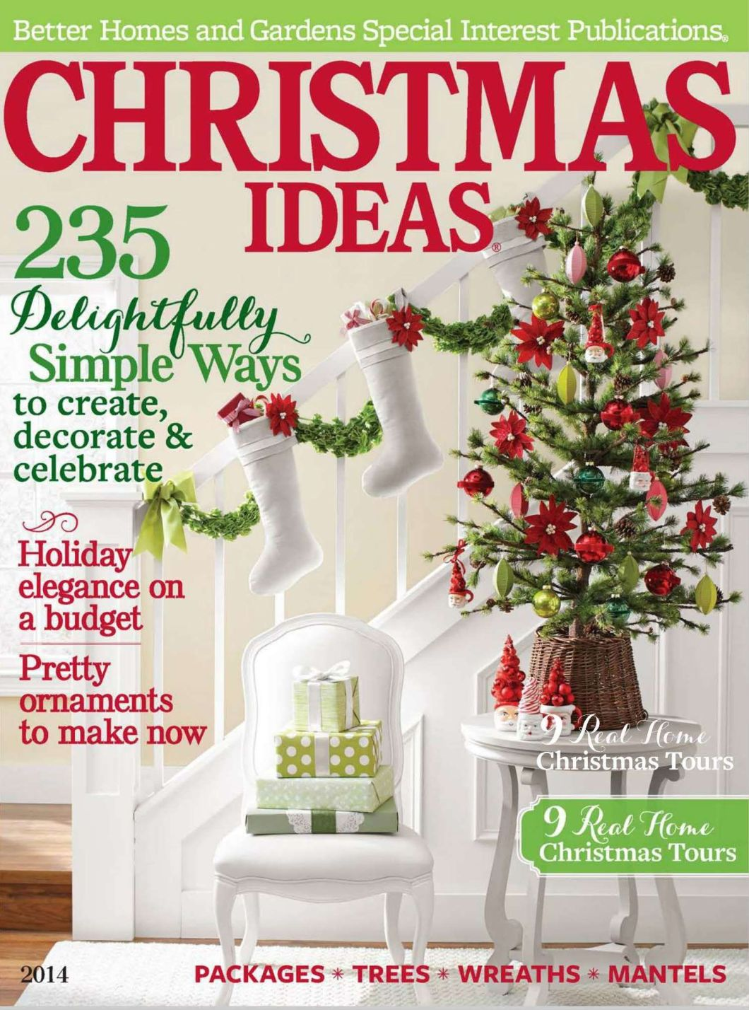 Better homes and gardens christmas decorating ideas