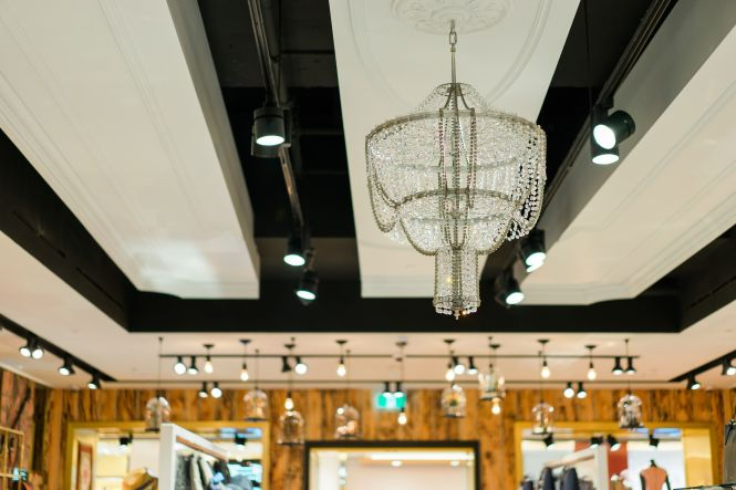 Ted Baker Vancouver Up Cycled Chandelier By Rothschild Bickers