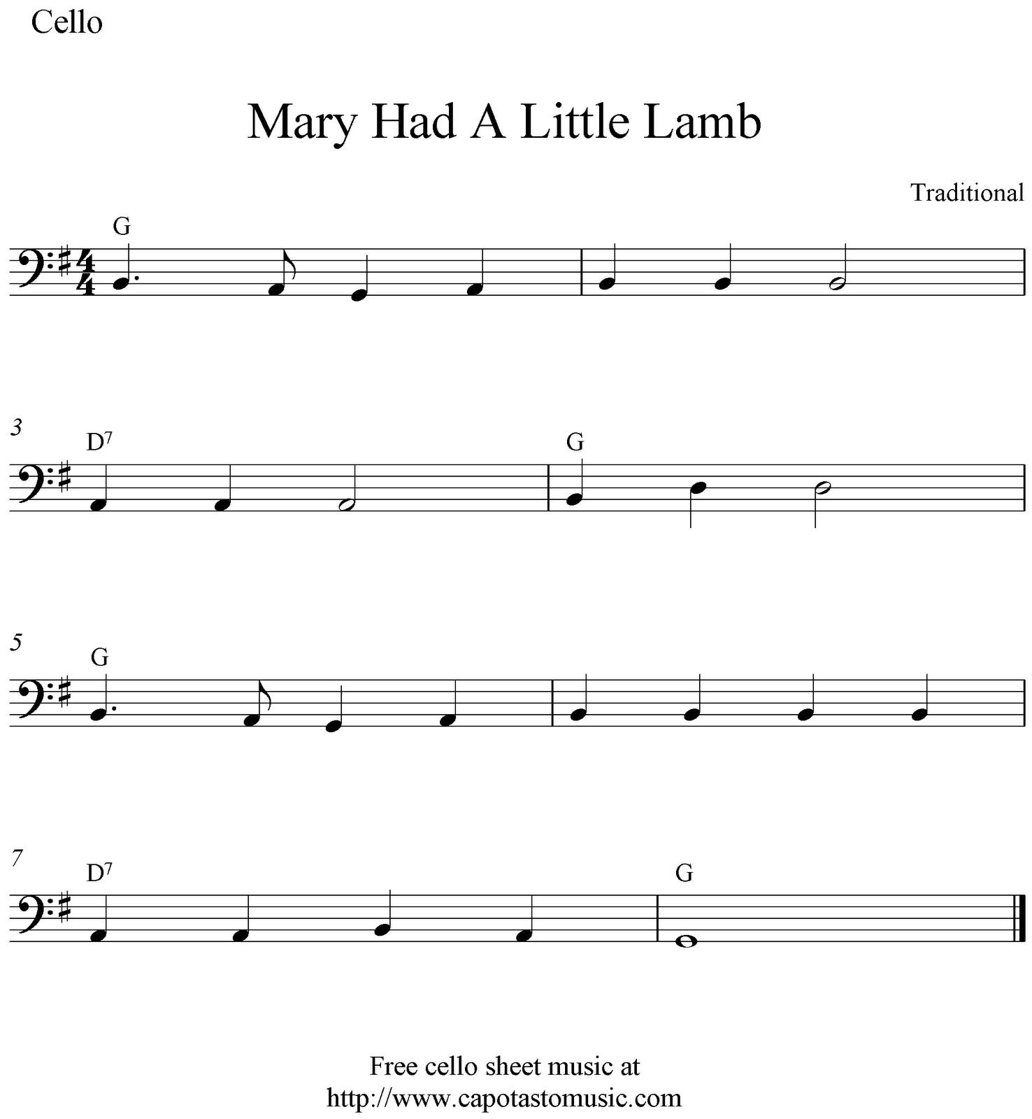 Easy Cello Music For Beginners