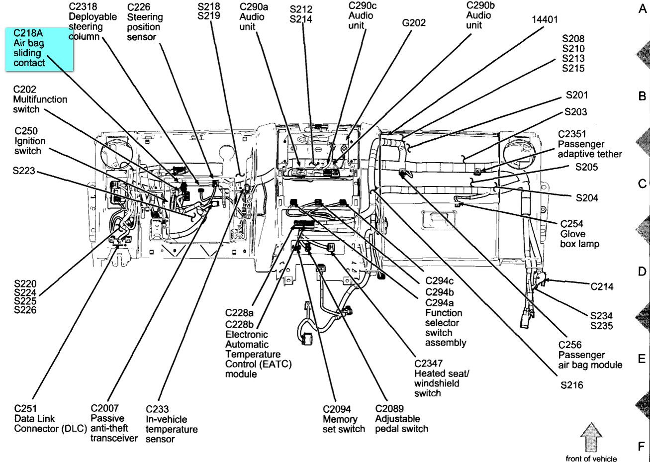 Ford Explorer Parts Diagram Ford Get Free Image