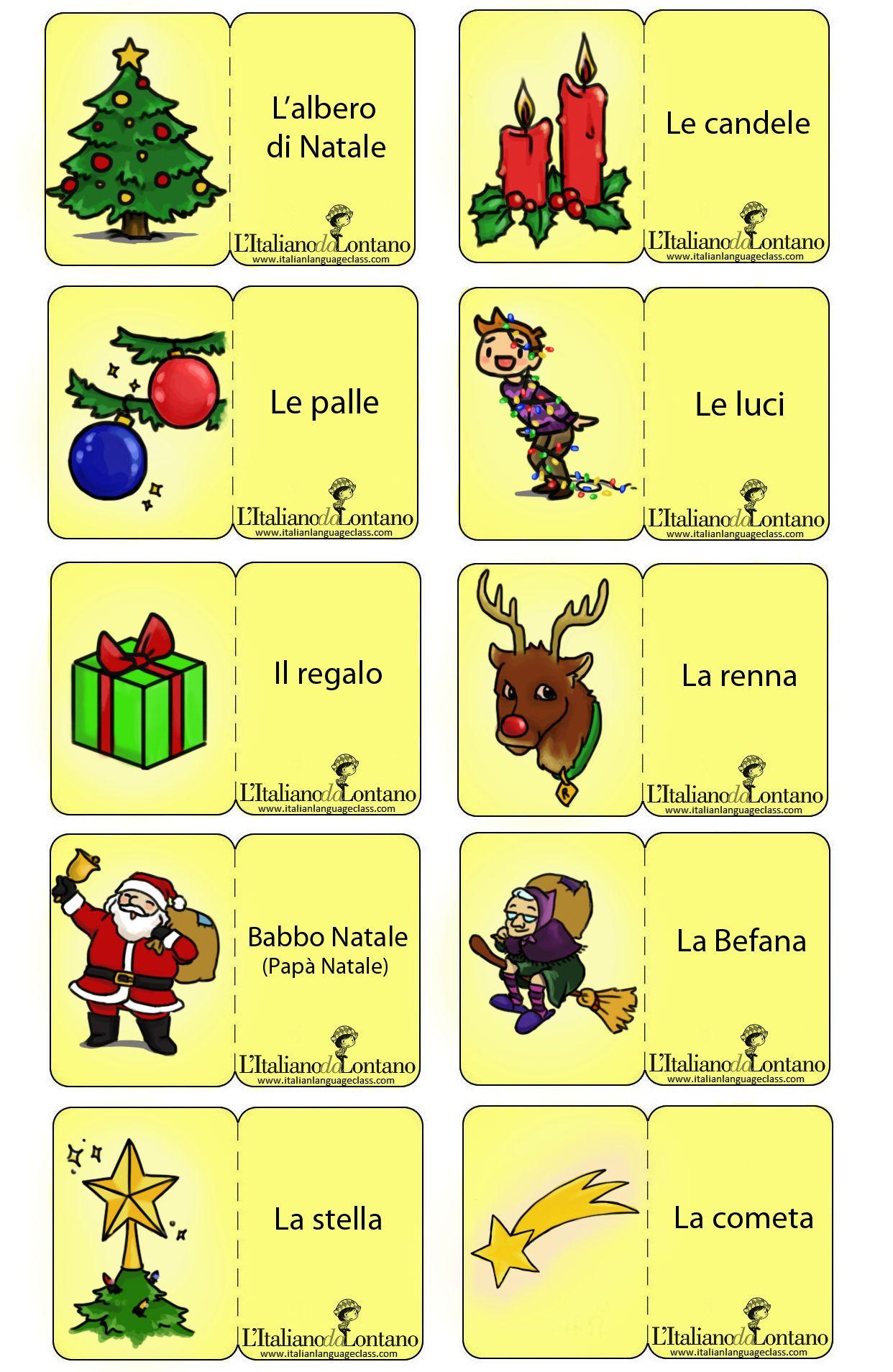 Worksheet In Italian La Befana Story