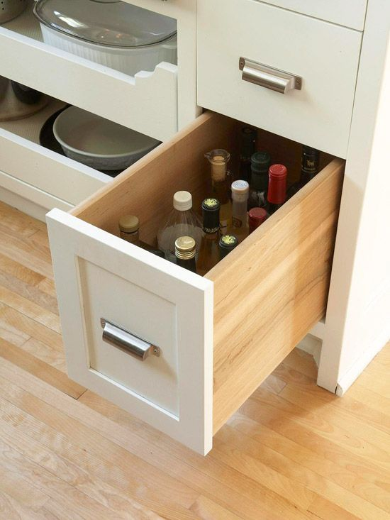 best ways to store more in your kitchen drawers bottle and vinegar on kitchen organization oil and vinegar id=14912