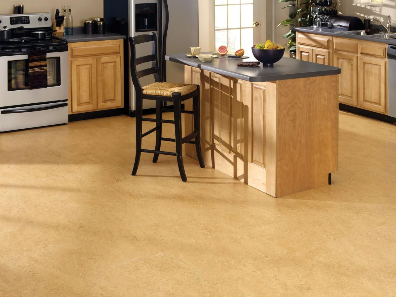 flooring trends kitchen vinyl flooring ideas and diy network on kitchen remodel vinyl flooring id=70244