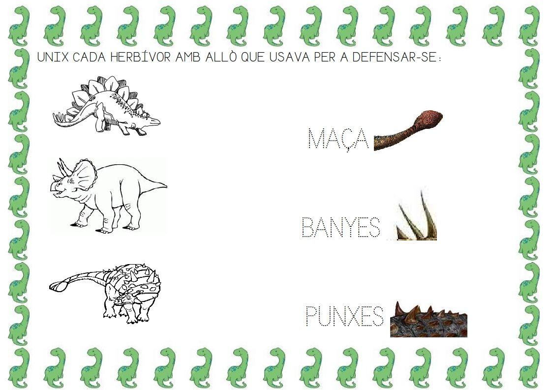 Recursos D Un Mestre D Infantil Projecte Dels Dinosaures