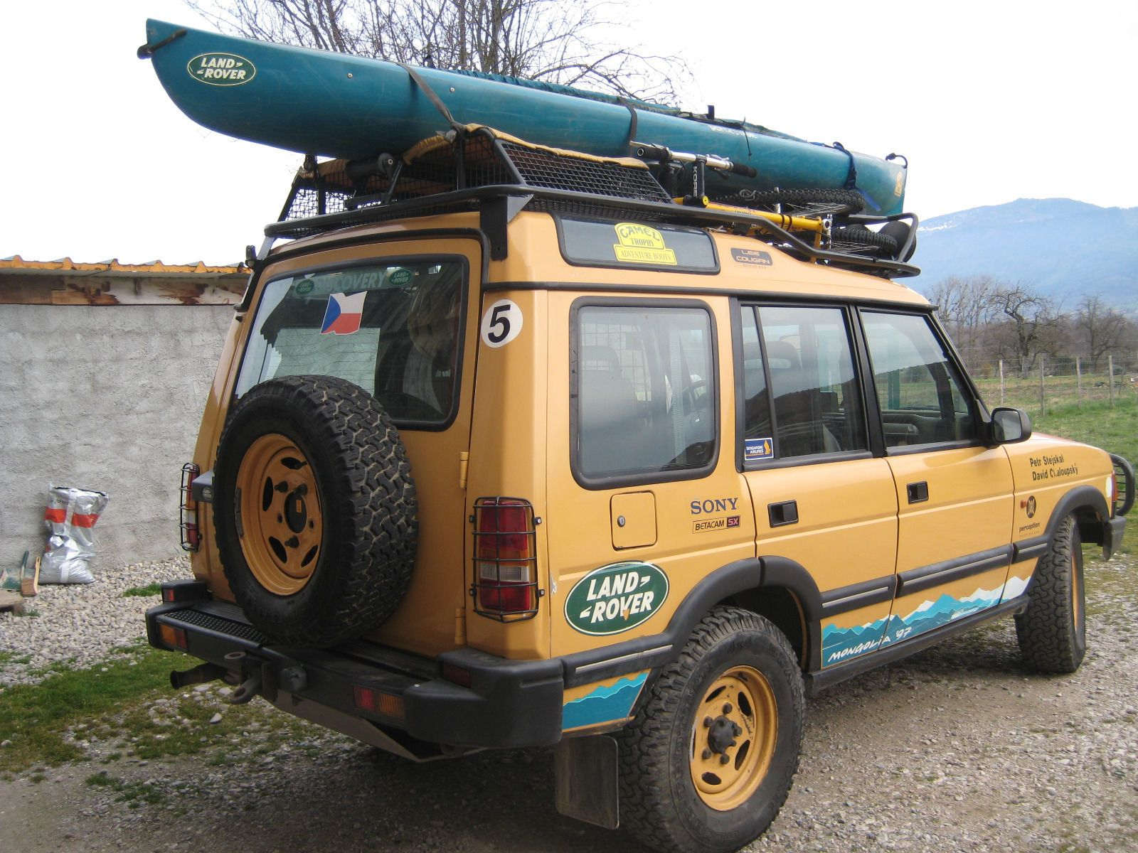 landrover discovery CAMEL TROPHY