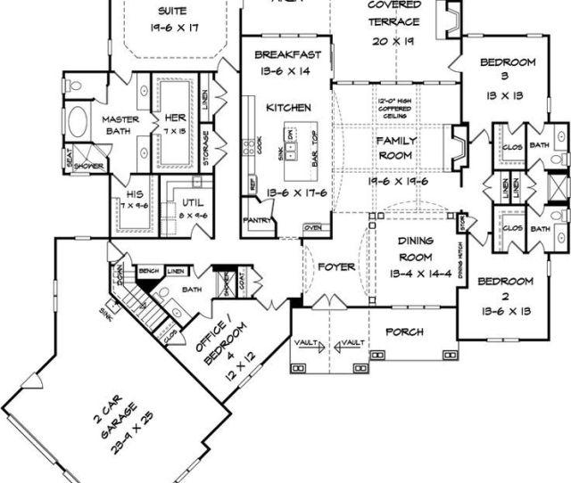Craftsman House Plan