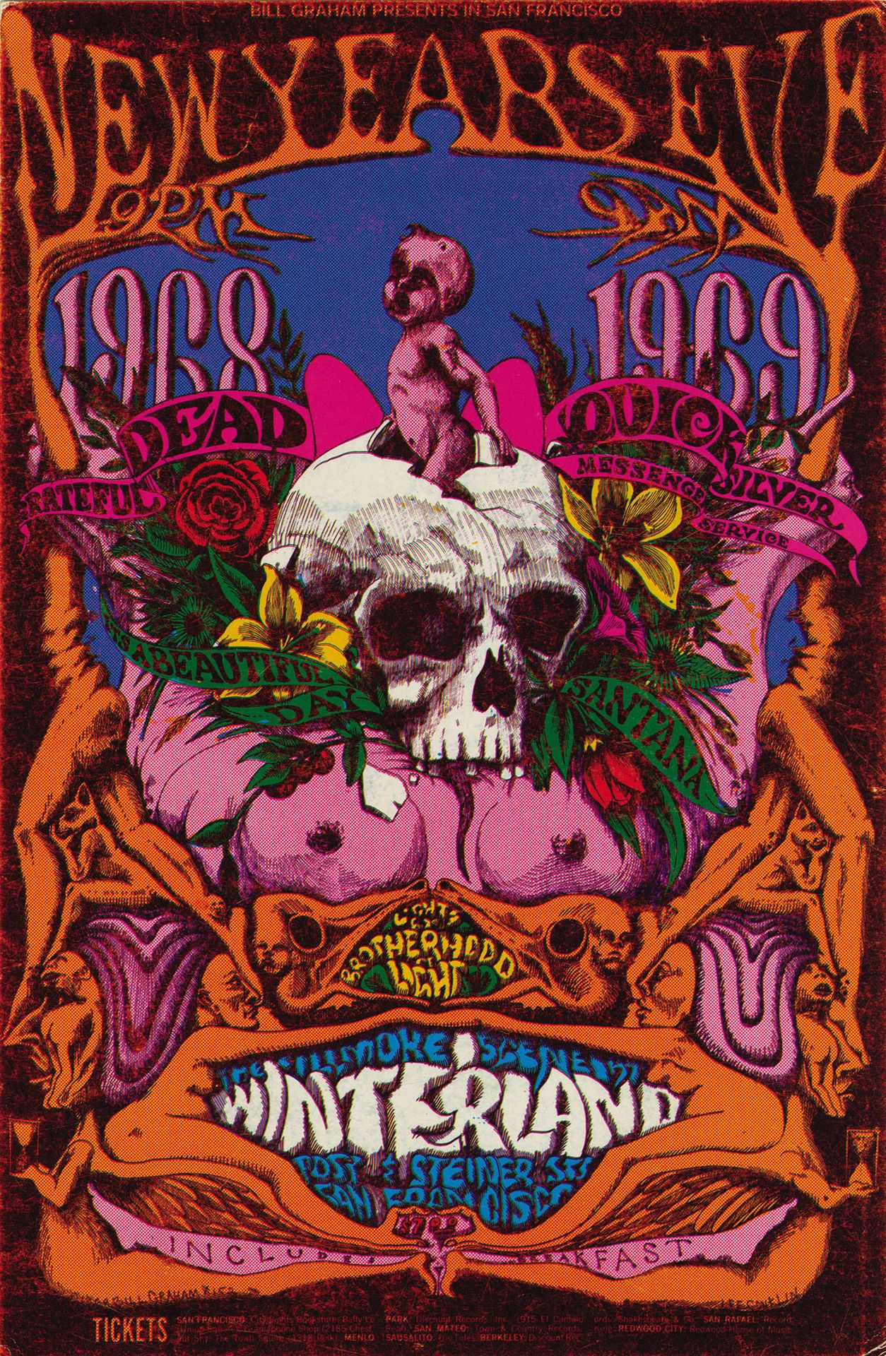 grateful dead new year poster