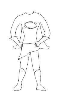 blank superhero template  free download  aashe