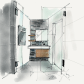 Dining room perspective drawing pin by nadia alamer on interior design sketches and illustration