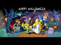 happy halloween simpsons