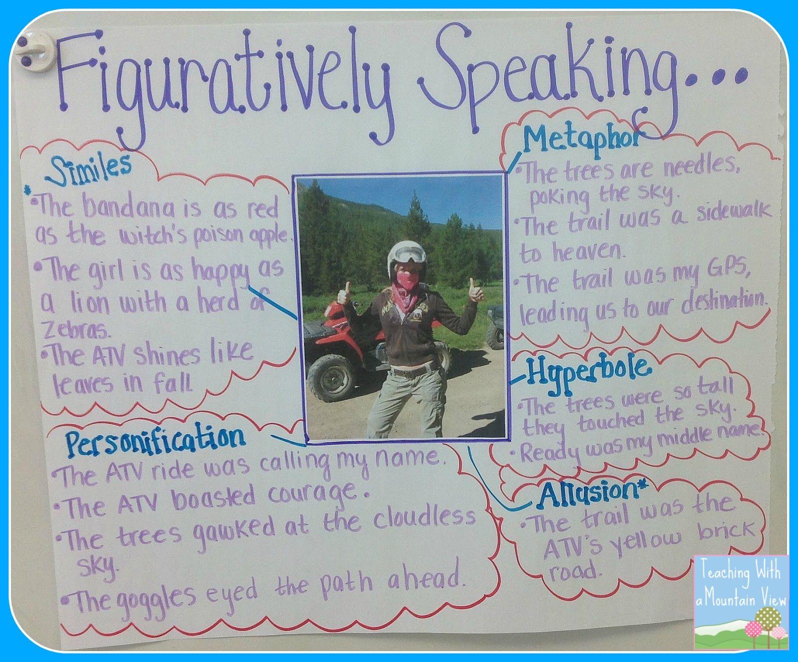 Tell Me A Story Tuesday Figurative Language