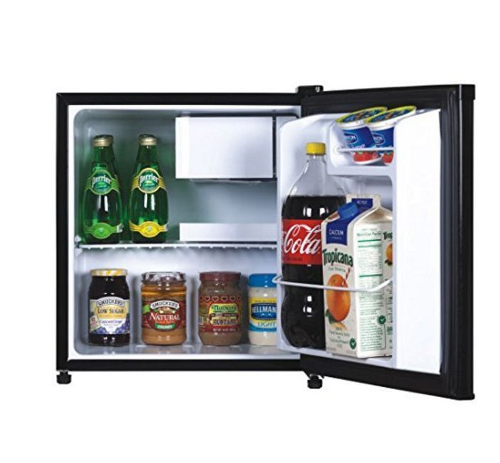 portable mini fridge black refrigerator cooler compact bedroom ice