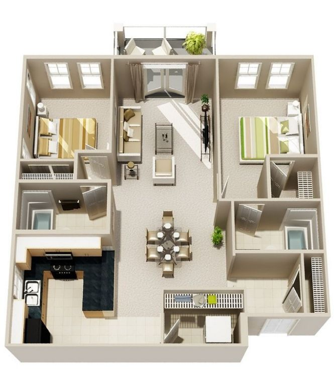 Free Floor Plan Lay Out Design For Your House Or