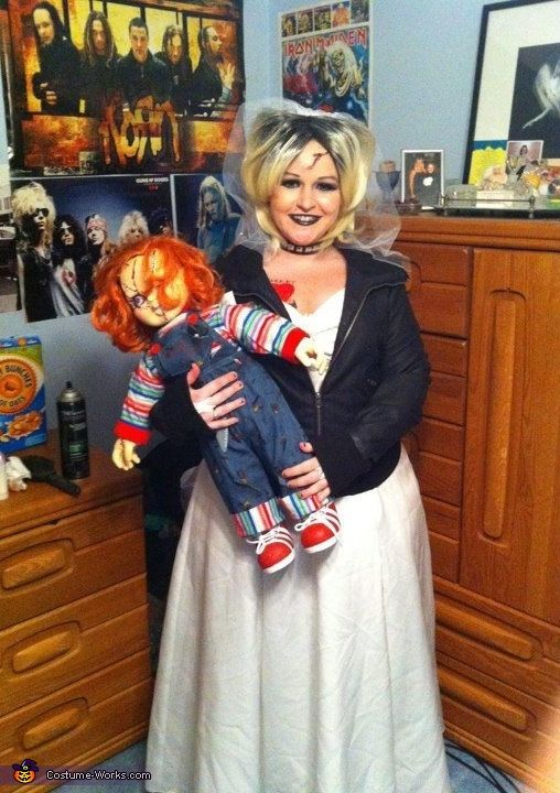 Tiffany Bride of Chucky Halloween Costume Contest at