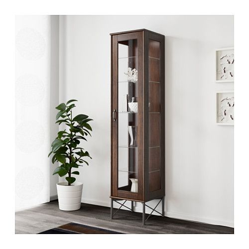 Ikea Klingsbo Glassdoor Cabinet With A Glassdoor Cabinet
