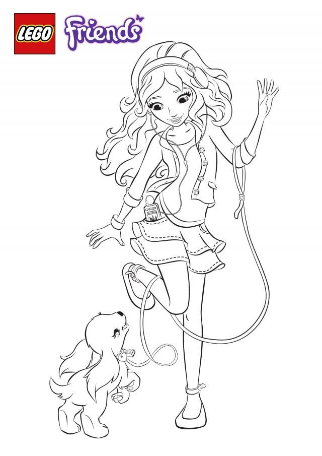 colouring_book_olivia 6×5 pixels  colouring for