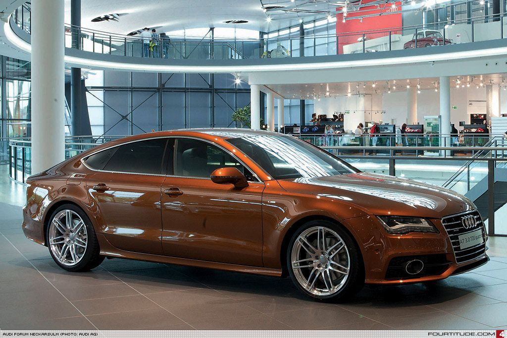 Audi A7 Special Ordered With Ipanema Brown Paint By Audi