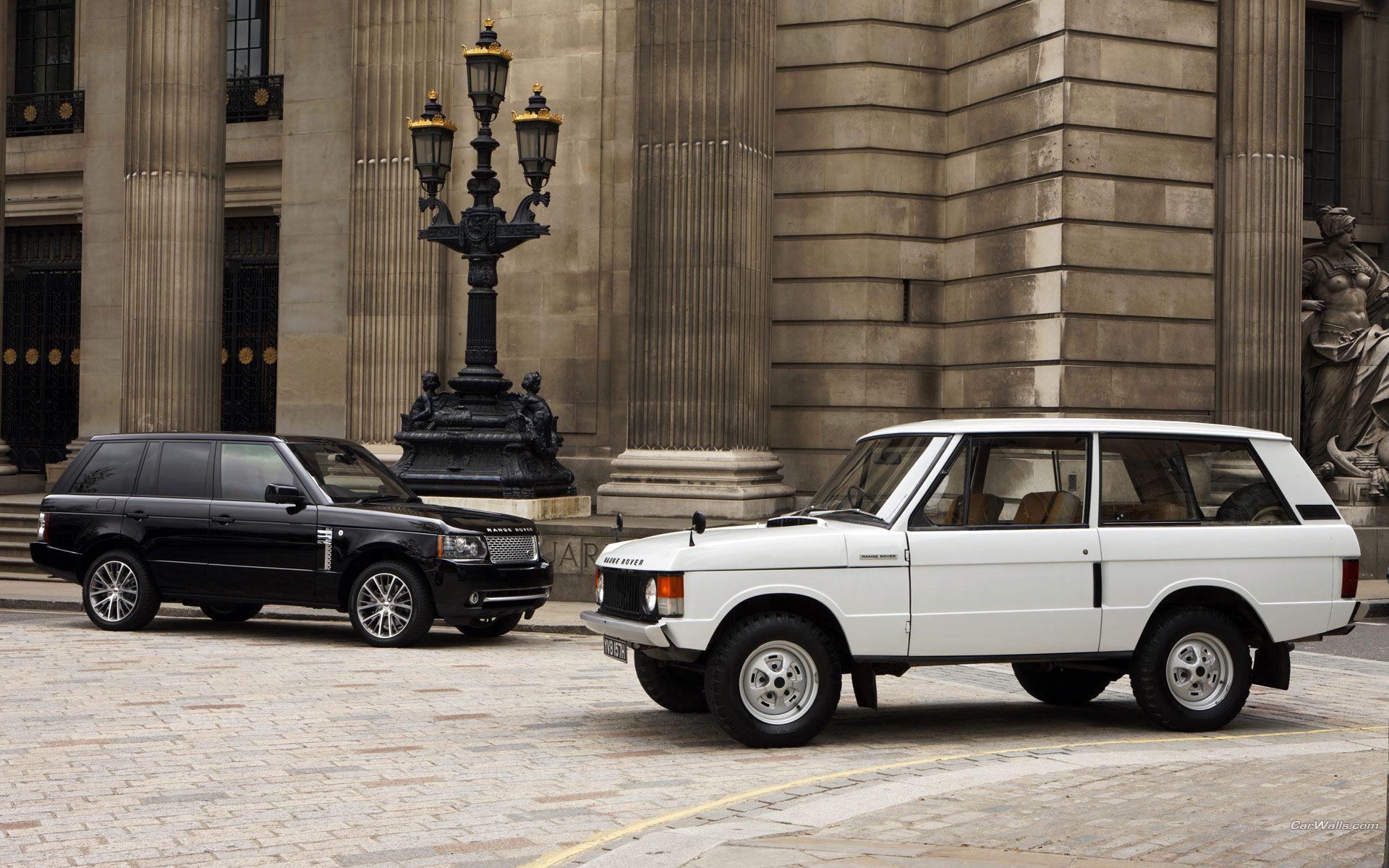Range Rover Classic and New Range Rover Pinterest
